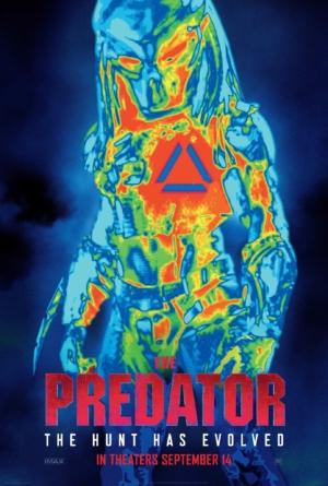 The Predator new art poster heats up