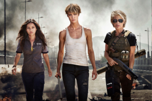 Terminator first look at Linda Hamilton, Mackenzie Davis and Natalia Reyes