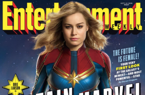 Captain Marvel first look at Brie Larson in full costume