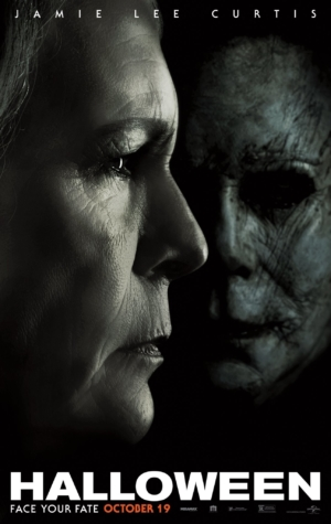Halloween new poster sees Laurie Strode and Michael Myres go head to head