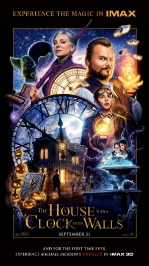 The House With A Clock In Its Walls new IMAX poster experiences the magic