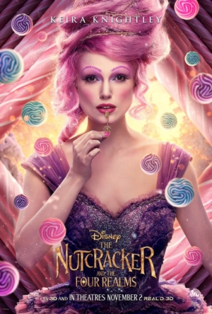 The Nutcracker And The Four Realms character posters are poised to go