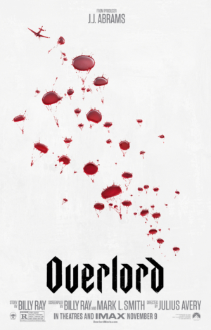 Overlord new poster parachutes in