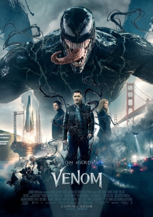 Venom new poster goes all out