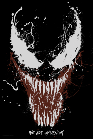 Venom new art posters are badass