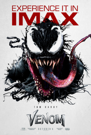 Venom new IMAX poster is probably the best one yet
