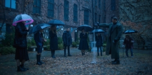 Umbrella Academy NYCC first look comes with posters, pics and a release date