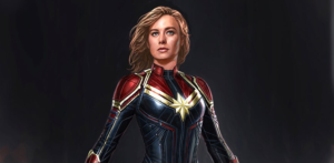 Captain Marvel new concept art shows Carol Danvers' suit design