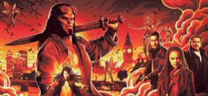 Hellboy new banner poster from NYCC gives a look at the Blood Queen