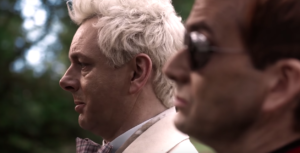 Good Omens first full trailer from NYCC tries to survive
