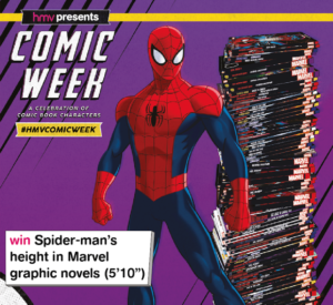 hmv presents Comic Week is celebrating the comic book universe