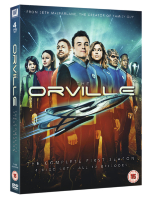 Win The Orville: The Complete First Season on DVD with our competition