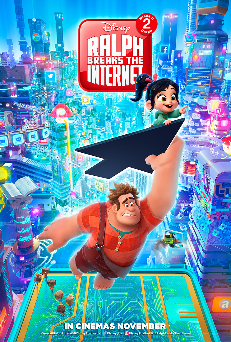 Ralph Breaks The Internet film review: sweet-hearted sequel heads online