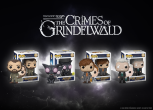 Win a set of Fantastic Beasts: The Crimes Of Grindelwald Funko Pops – in cinemas Nov 16