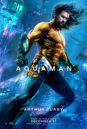 Aquaman new character posters get down to business