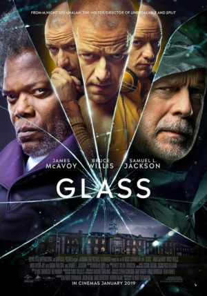 Glass new poster shatters the team