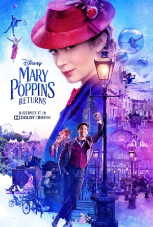 Mary Poppins Returns new Dolby Cinema poster is magical