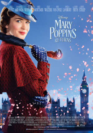 Mary Poppins Returns new posters strike a pose