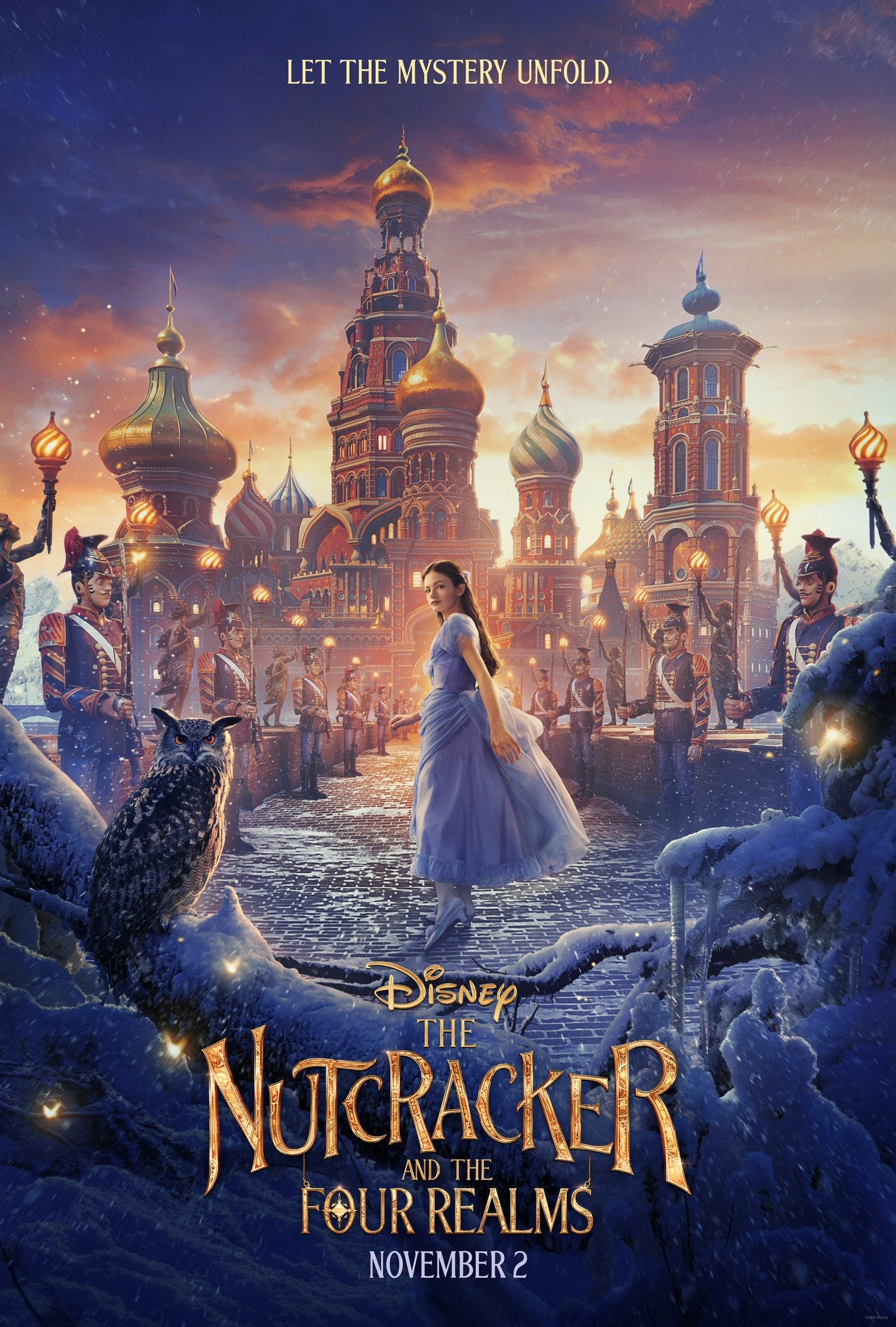 The Nutcracker And The Four Realms film review: full of colour, wonder and surprises