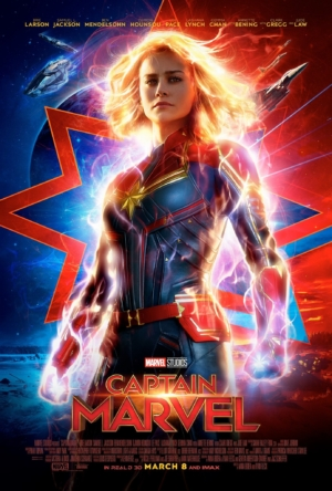 Captain Marvel new poster is suited up and ready to go