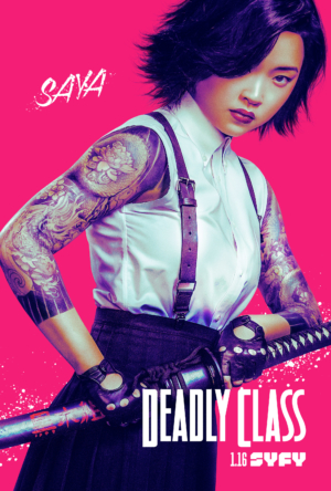 Deadly Class new posters introduce the characters in hot pink