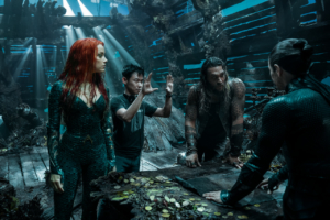 "Aquaman interview: ""It felt like we were doing some strange avante-garde theatre!"""