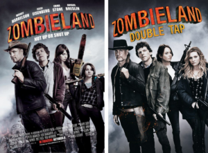 Zombieland 2 reveals new poster and title and adds Rosario Dawson