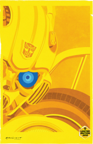 Bumblebee limited edition art posters will fill you with joy
