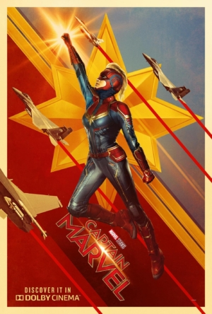 Captain Marvel new posters are very nice