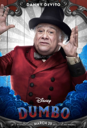 Dumbo new character posters introduce the performers