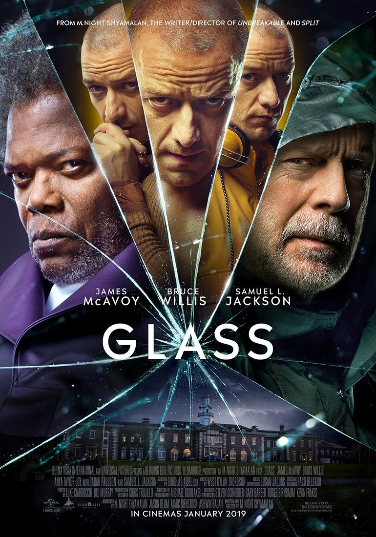 Glass film review: is Shyamalan's Unbreakable sequel worth the wait?