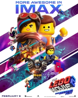 The LEGO Movie 2 new poster is more awesome in IMAX