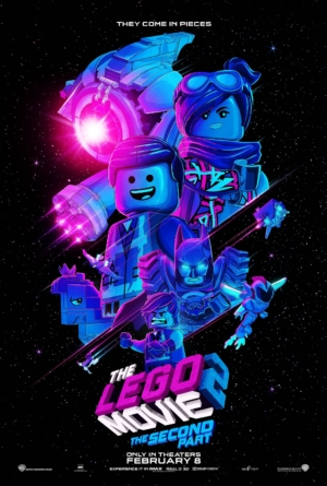 The LEGO Movie 2: The Second Part new art poster gets retro