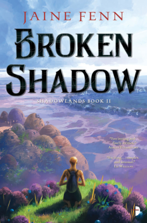 Broken Shadow by Jaine Fenn book cover reveal