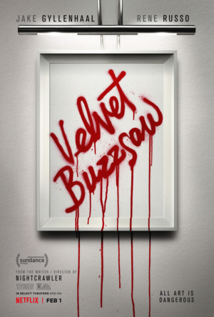 Velvet Buzzsaw new poster belongs in a gallery