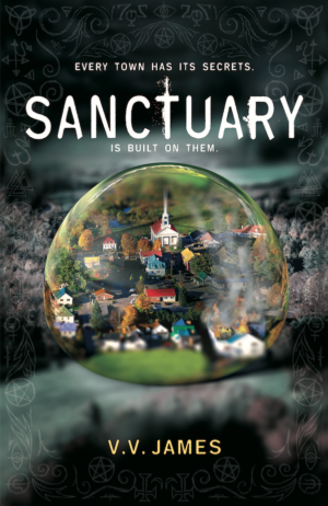 Sanctuary by V. V. James exclusive book cover reveal