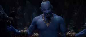 Aladdin new trailer gives first look at Will Smith's Genie