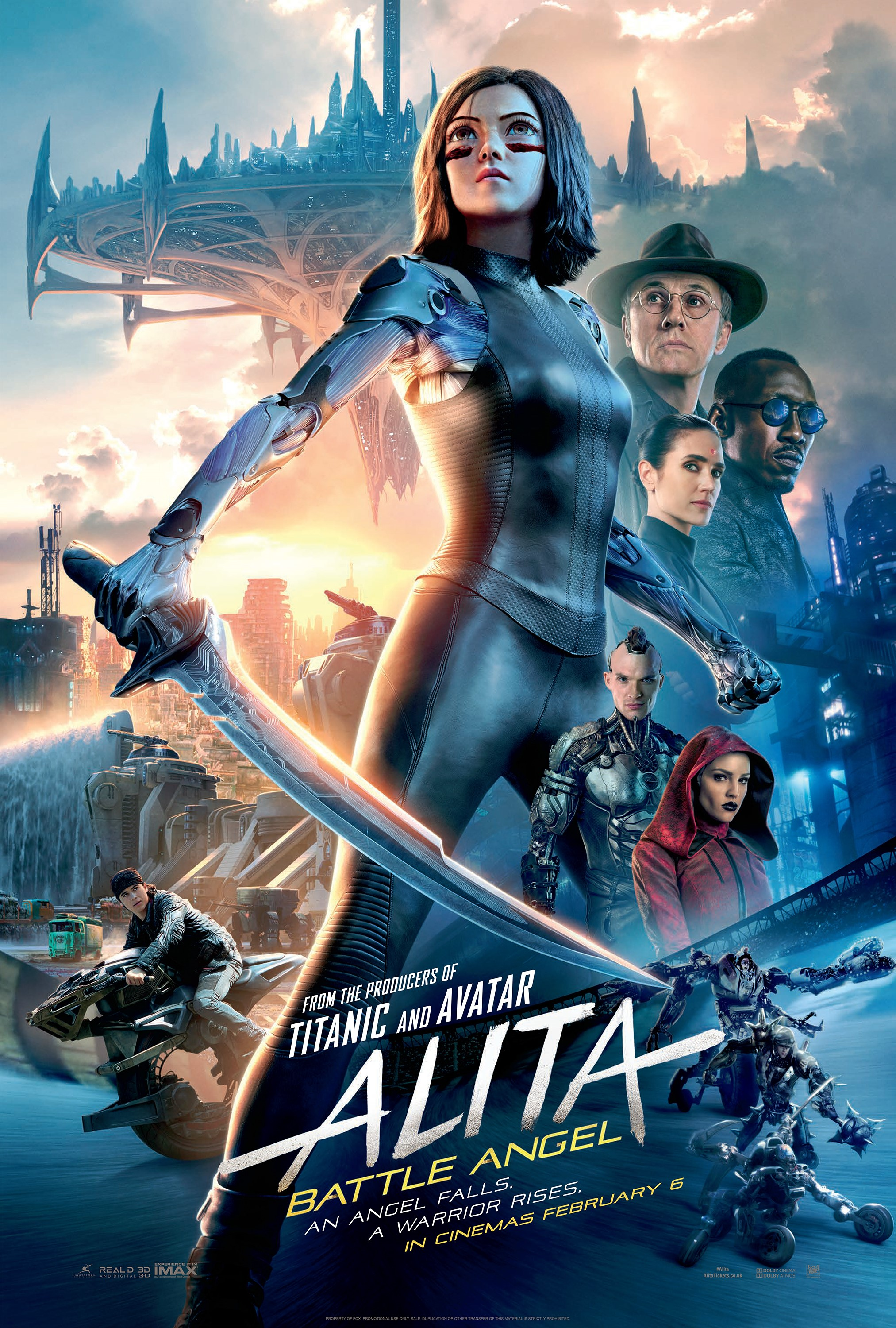 Alita: Battle Angel film review: Rodriguez and Cameron go big or go home