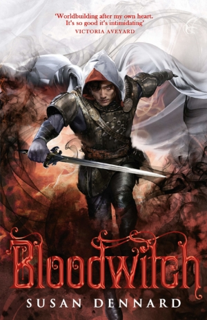 Win a signed copy of Bloodwitch by Susan Dennard with our book competition!