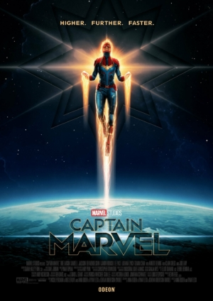 Captain Marvel new posters level up