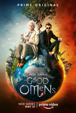Good Omens new poster is on top of the world