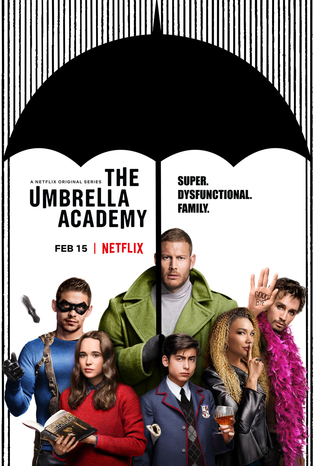 The Umbrella Academy review: heartwarming dysfunction
