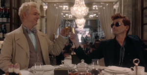 Good Omens new trailer is the end of the world as we know it