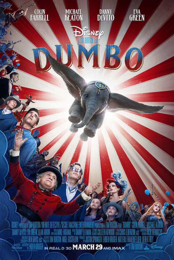 Dumbo film review: takes flight but never quite soars