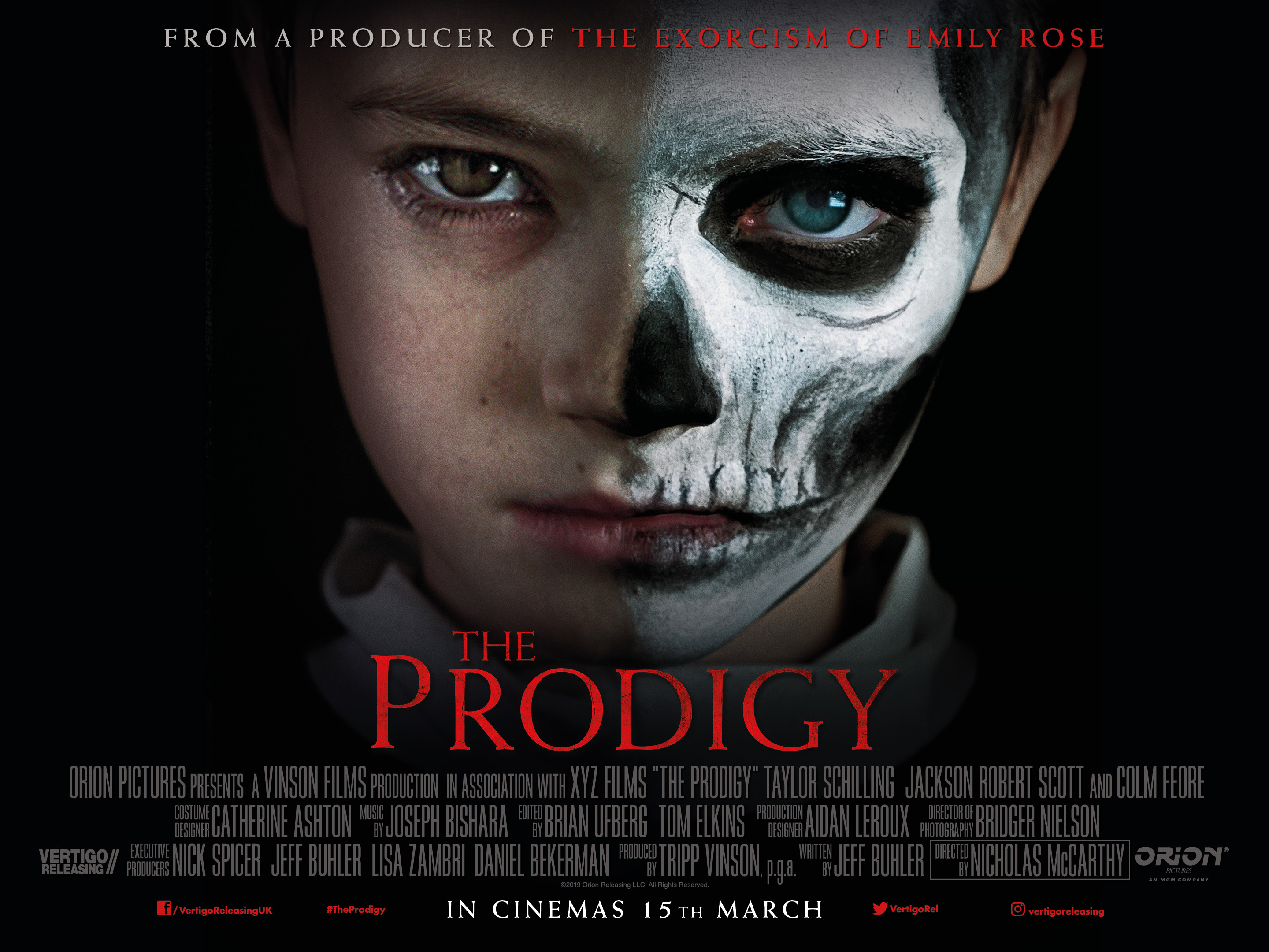 The Prodigy film review: Taylor Schilling's son is a bad seed in creepy kid horror