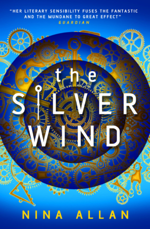 The Silver Wind by Nina Allan exclusive book cover reveal