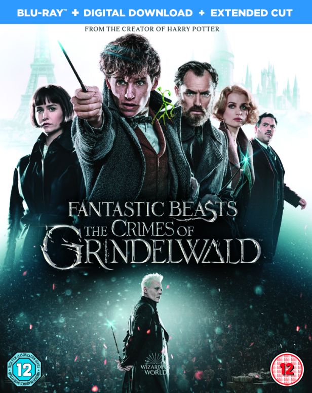 Win a Fantastic Beasts: The Crimes Of Grindelwald Blu-ray & signed