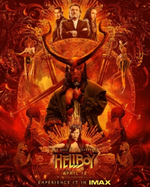 Hellboy new IMAX poster is one hell of an IMAX poster