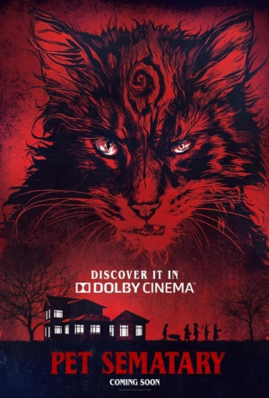 Pet Sematary new Dolby art poster sends in Church