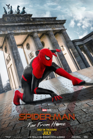 Spider-Man: Far From Home new posters throw back to Homecoming